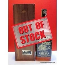 Alberta Springs Canadian Whisky 1970 Bottle Wood Box