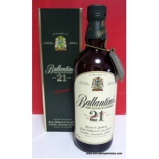 Ballantines 21 Year Old Whisky