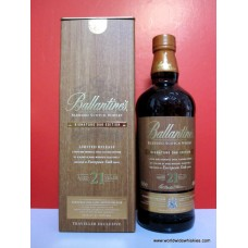 Ballantines European Oak 21 Year Whisky 700ml Boxed