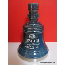Bell's Royal Reserve 20 Yr Old Whisky Decanter RARE
