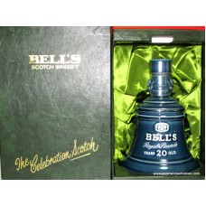 Bell's Royal Reserve 20 Yr Old Whisky Decanter RARE Box