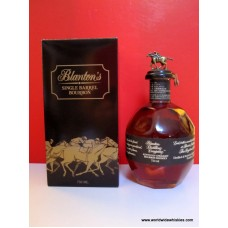 Blantons 2017 Black Single Barrel Whiskey 40% 750ml