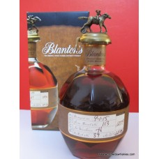 Blantons Straight from the Barrel Proof Bourbon Whiskey 63.95% 750ml