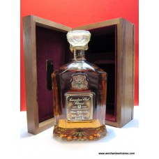 Canadian Club Classic 12 Yr Canadian Whisky 1978 Wood Boxed