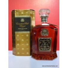 Canadian Club Classic 12 Year Canadian Whisky 1975 Boxed