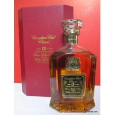 Canadian Club Classic 12 Year Canadian Whisky 1978 Boxed
