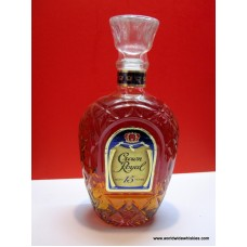 Crown Royal 15 Year Canadian Whisky Paper Label