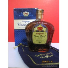 Crown Royal 1964 Canadian Whisky FIFTH 4-5 Quart Boxed
