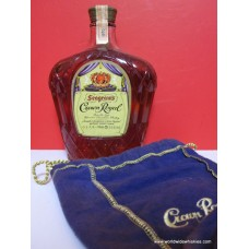 Crown Royal 1970 Canadian Whisky JPN Text