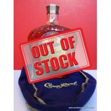 Crown Royal 1972 Canadian Whisky HKDNP Label 750ml