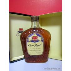 Crown Royal 1974 Canadian Whisky Gift Boxed