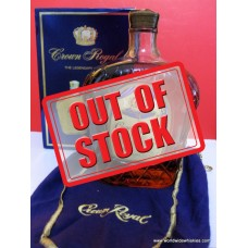 Crown Royal 1979 Canadian Whisky THAI Label 1000ml Boxed