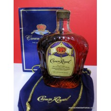 Crown Royal 1981 Canadian Whisky 750ml Boxed