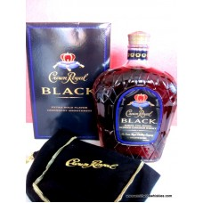 Crown Royal BLACK Canadian Whisky Boxed