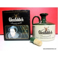 Glenfiddich ROYAL HERITAGE Mary Queen of Scots 18 Year Crock Decanter