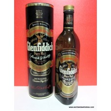 Glenfiddich PURE MALT Whisky Cannister Boxed