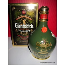 Glenfiddich 18 Year PURE MALT Green Spode Whisky 750ml
