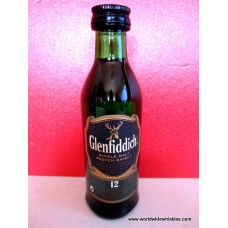 Glenfiddich 12 Single Malt 50ml #1