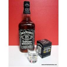 Jack Daniels 750ml 43% Shot Glass Set # 2
