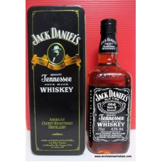 Jack Daniels OLD No.7 Whiskey 75cl Bottle / TIN BOX