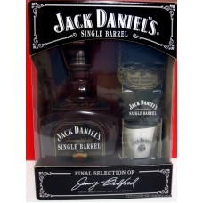 Jack Daniels Single Barrel Whiskey  GIFT BOX SET #1