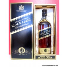 Johnnie Walker BLACK Old Whisky Gift Boxed 750ml