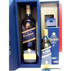 Johnnie Walker Blue 1000ml and 200ml South Korea DFS Boxed Set