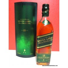 Johnnie Walker GREEN 15 Year Old Whisky 200ml Boxed