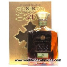 Johnnie Walker GOLD XR 21 Whisky Decanter Boxed