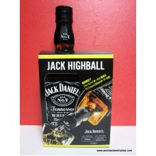 Jack Daniels Old No. 7 / Jack Daniel's Highball Nip Pourer Gift Set 6
