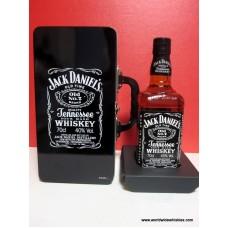 Jack Daniels 700ml 40% CD Case Handled Tin Box Set