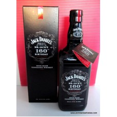 Jack Daniel's 160th Birthday Whiskey 1000ml Boxed