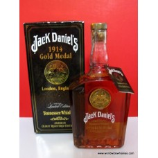 Jack Daniels 1914 Gold Medal Whiskey 750ml Signed  Boxed