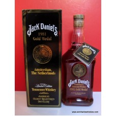 Jack Daniels 1981 Gold Medal Whiskey 750ml Boxed