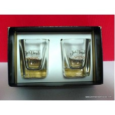 Jack Daniels 2 Shot Glass Set