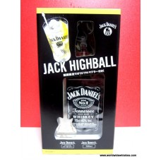 Jack Daniel's 700ml JD Old No. 7 / Jack Daniels Highball Guitar Mixer Set