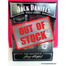 Jack Daniels Single Barrel Whiskey GIFT BOX SET #4