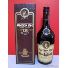 Jameson 1780 Old Irish Whiskey 12 Year 750ml Boxed