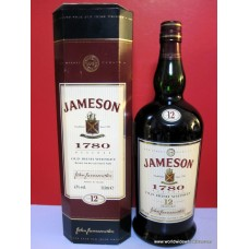 Jameson 1780 Old Irish Whiskey 12 Year 1000ml Boxed