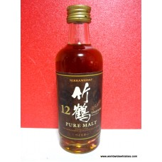 Nikka TAKETSURU PURE MALT 12 Yr. Whisky Miniature 50ml