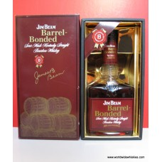 Jim Beam 1992 Barrel Bonded 100 Proof Boxed
