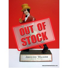 Johnnie Walker Walking Man Figurine Display