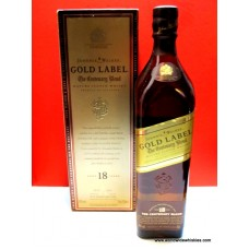 Johnnie Walker 18 Gold Centenary Blend Whisky Boxed