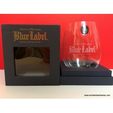 Johnnie Walker BLUE Crystal Riedel Glass Boxed