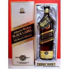 Johnnie Walker BLACK Old Whisky King Size 937.5ml Boxed