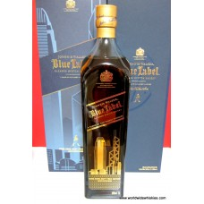 Johnnie Walker Blue Hong Kong Duty Free Ed. 1L Boxed
