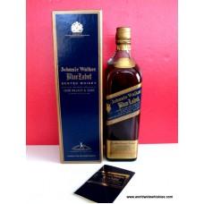 Johnnie Walker Blue 43% Slim Boxed