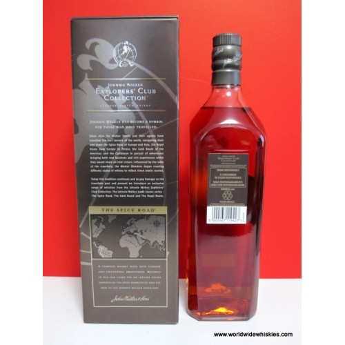 Johnnie Walker Explorers Club The Spice Road 1000ml Paper Boxed
