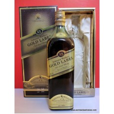 Johnnie Walker GOLD 15 Year Old Whisky Lined Boxed