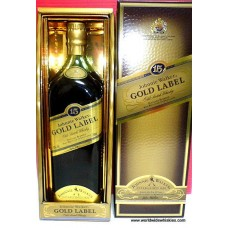 Johnnie Walker GOLD 15 Year Old Whisky Boxed